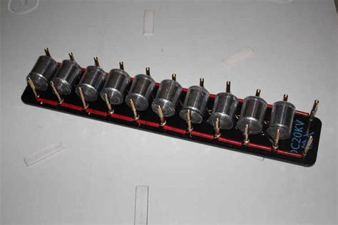 Ebay Tesla Coil 10grades Marx Impulse Voltage Pulse High Voltage Generator