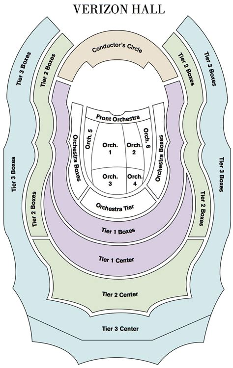 Floorplan Online by The Philadelphia Orchestra
