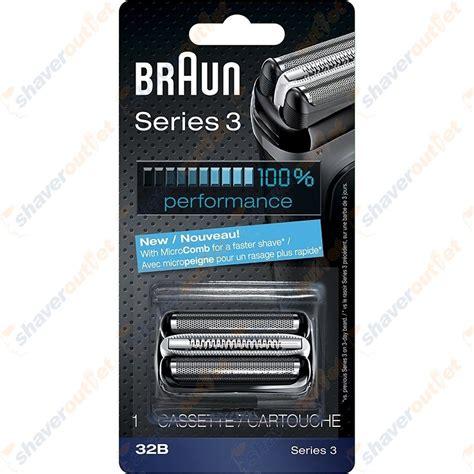 braun series 3 32b cassette shaveroutlet shaveroutlet braun series 3