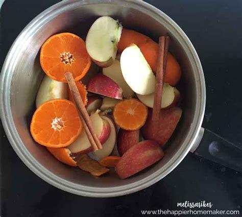 simmer pot recipes autumn simmer pot the happier homemaker