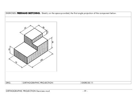 jmcintyre tdj3m views and sketching simple orthographic drawing exercises www imgkid com