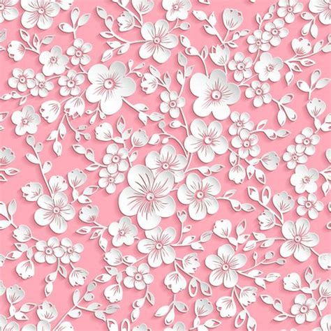 pattern of paper flower 134 best pink backgrounds images on pinterest