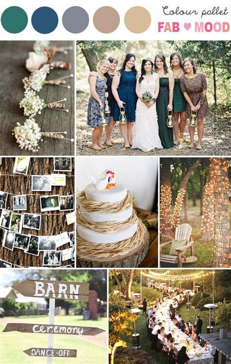 rustic wedding colors rustic archives 1 fab mood wedding colours wedding