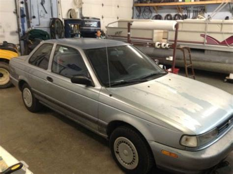 how petrol cars work 1992 nissan sentra auto manual purchase used 1992 nissan sentra xe sedan 2 door 1 6l in united states for us 3 000 00