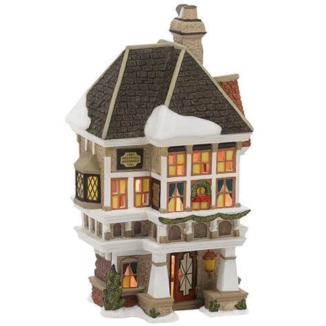 dept 56 village houses figures and accessories