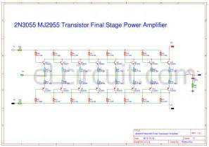 2n3055 transistor lifier circuits 2n3055 mj2955 booster transistor circuit electronic circuit