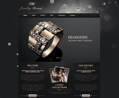 web layout jewellery how to choose a jewelry website design that converts