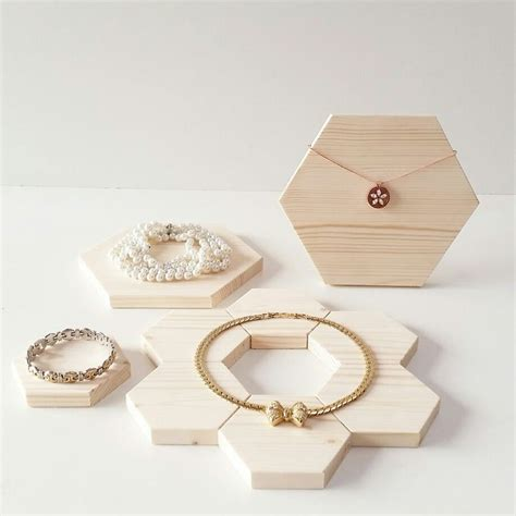 best 25 wooden jewelry display ideas on