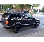 Chevrolet Blazer 1995 Review Amazing Pictures And Images