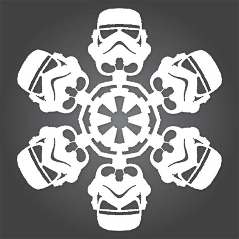 wars snowflakes template if it s hip it s here archives it s snowing wars