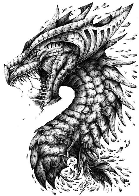pen dragon tattoo renecbellart ren 233 cbell deviantart