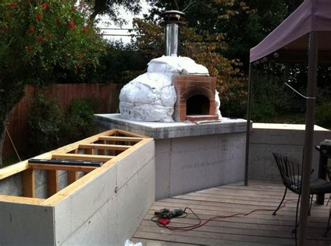 backyard pizza oven diy 51 best outdoor deck images on pinterest backyard patio