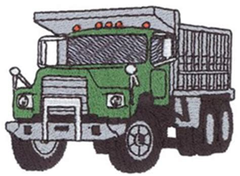 Dump Truck Embroidery Design Hqembroidery by Dump Truck Embroidery Designs Machine Embroidery Designs