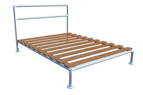 Building Bed Frames How To Build A Pipe Bed Frame Simplified Building