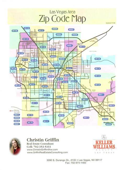 vegas zip code map las vegas area zip code map