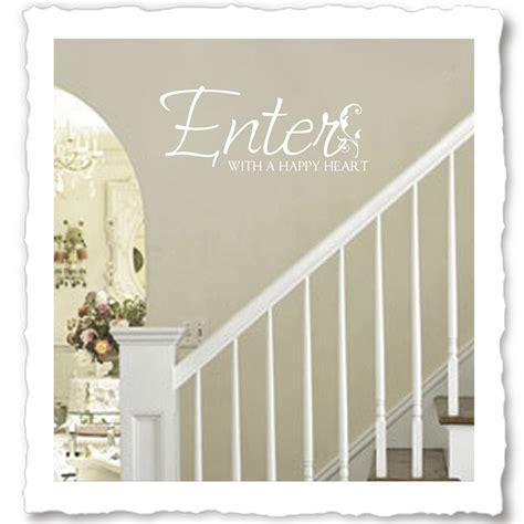 foyer quotes welcome quotes vinyl wall quotes for foyer entryway