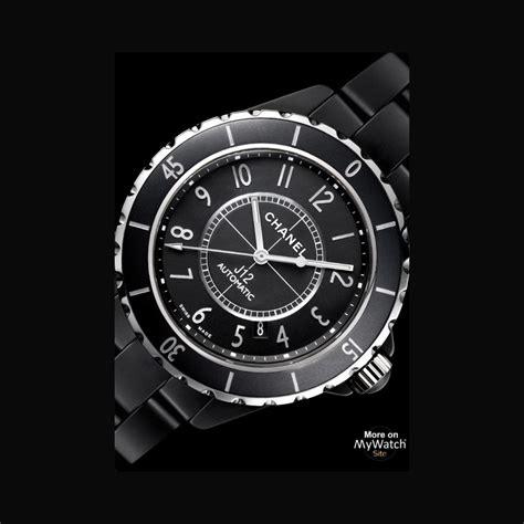 Chanel Mate chanel j12 mate j12 h3131 matt black ceramic