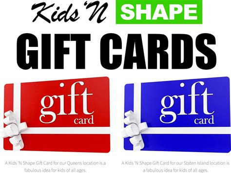 Is It Safe To Buy Gift Cards On Ebay - kids n shape now offers gift cards for nyc parents