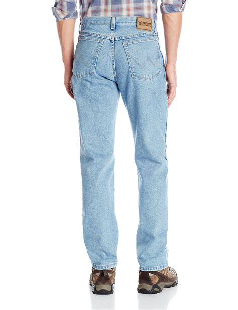 rugged dress wrangler s rugged wear classic fit jean wash