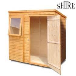 Shiplap Sheds 6 X 4 by Shire Shiplap Pent 6x4 Shed
