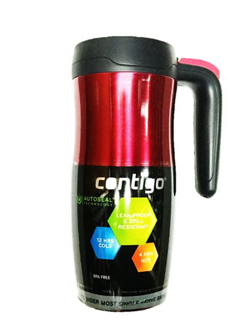 Creative Kitchen Knives by Contigo Randolph Stainless Steel Travel Mug Review The