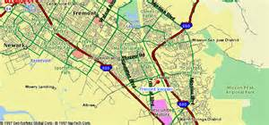 fremont map map travel vacations