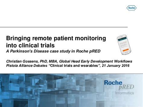 Mba Remote Titles by Pistoia Alliance Debates Clinical Trials And Wearables