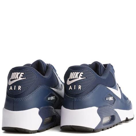 Sepatu Nike Air Max 90 Navyblackwhite nike air max 90 mesh gs midnight navy black white
