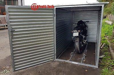 Die Motorradgarage Canada by Blechgarage Fertiggarage Metallgarage Garage