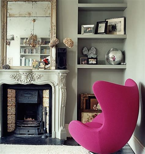 magenta home decor magenta pink interiors inspiration chairs living room