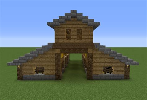 Horse Barn Blueprints Wooden Stable Grabcraft Your Number One Source For