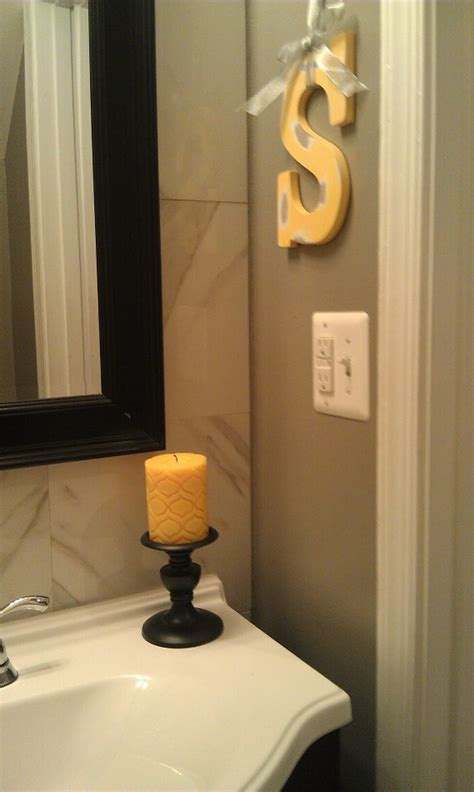 yellow grey bathroom yellow gray and black bathroom for the home pinterest