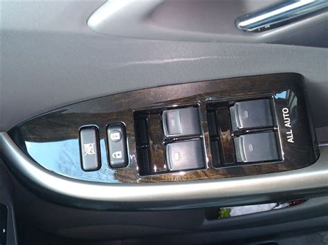 Toyota Set Panel Wood toyota prius zvw30 35 phv rhd wood grain door switch base panel set genuine oem parts 2009 2014
