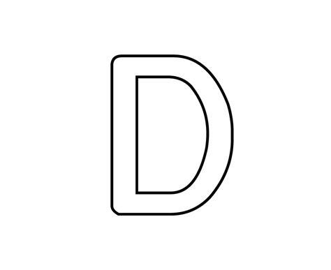 lettere d dessins lettre d 201 ducatifs
