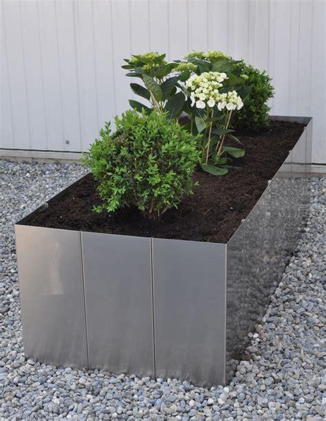 Moderne Hochbeete by Garten Im Quadrat Hochbeet Quot Square 160 Quot Edelstahl Bausatz