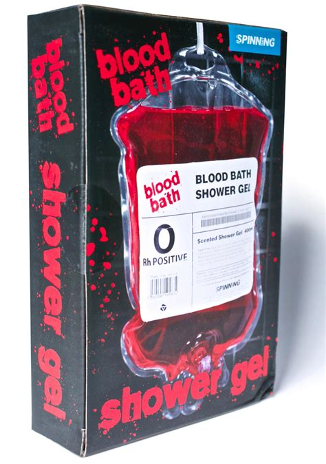 blood bath shower gel blood bath shower gel dolls kill