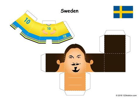 Football Papercraft - 17 best free papercraft images on paper