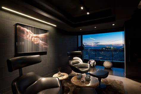 Bedroom Lighting Auckland A Dramatic Residence Fit For Mr Bond Skyfall Apartment By