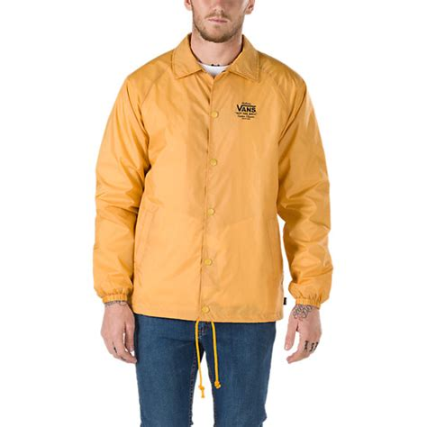 Jaket Vans torrey coaches jacket shop jackets at vans