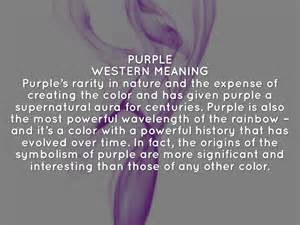 color meanings purple
