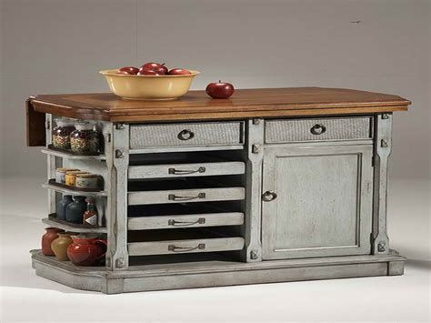 small retro kitchen islands on wheels