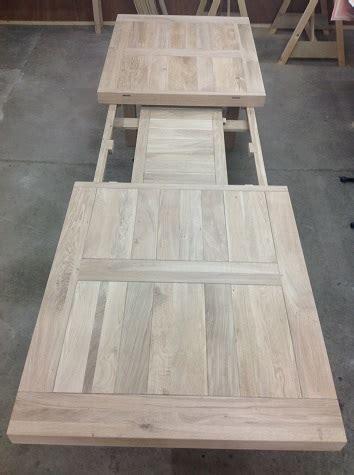 uitschuifbaar tafelblad maken te koop aangeboden meubelen tempel meubelen drenthe