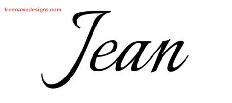 jean archives free name designs