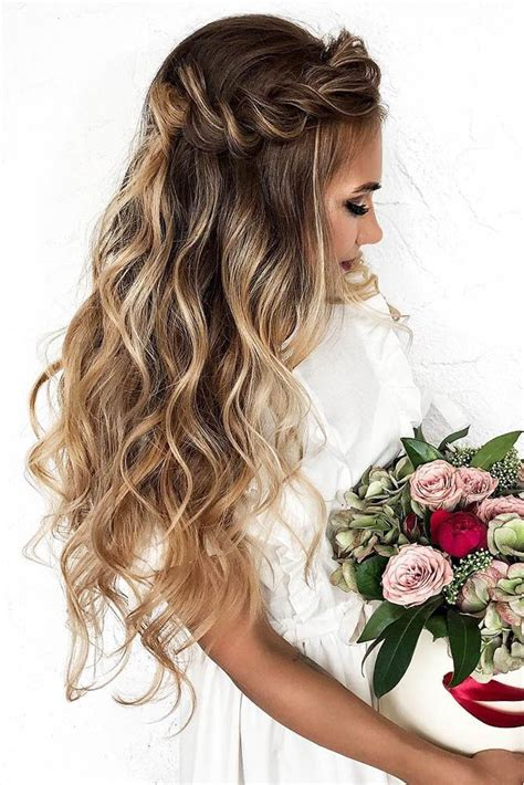 33 wedding hairstyles with hair down