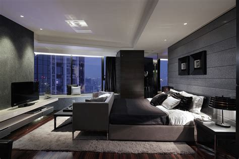 Modern Master Bedroom by Synergistic Modern Spaces By Steve Leung