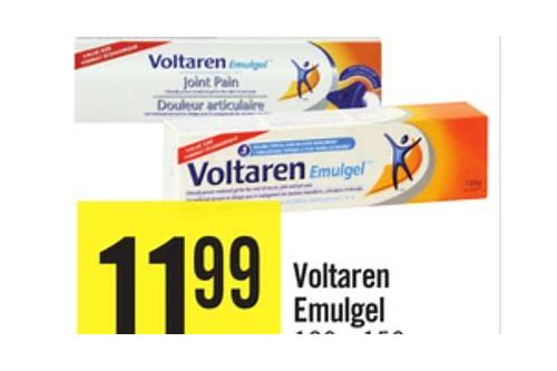 coupons for voltaren gel