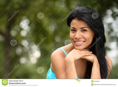 beautiful spanish girl stock image image of face expression 3442045