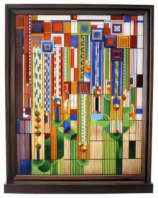 Frank Lloyd Wright Wall Sconces Frank Lloyd Wright Cactus Flowers Stained Glass