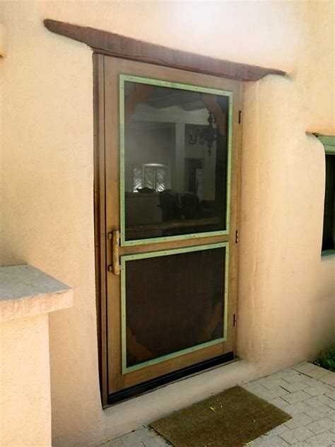 Handmade Screen Doors - the galisteo screen door custom screen doors santa fe