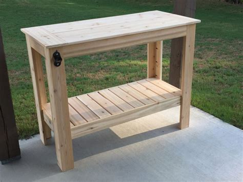 diy grill table plans 25 best ideas about grill table on diy grill